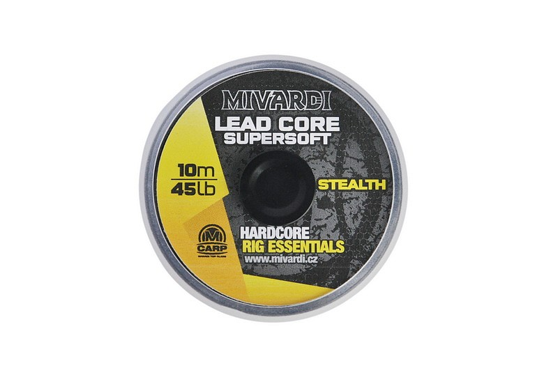 Šnúrka Lead Core SuperSoft - Stealth 10m/45lb