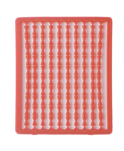 Boilie stoppers (red) 100pcs rack