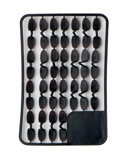 Pellet holders big (brown) 67pcs rack