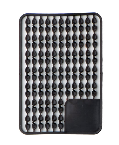 Pellet holders small (brown) 67pcs rack