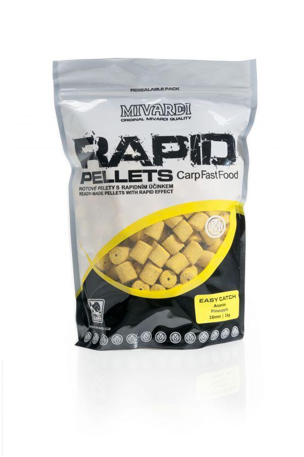 Mivardi Rapid Pelety Easy Catch - Ananás 1kg | 4mm