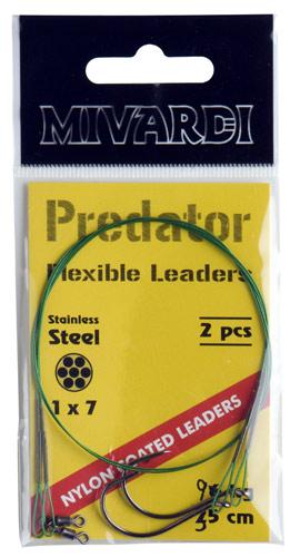 Wire leaders (obratlík + jednohák)