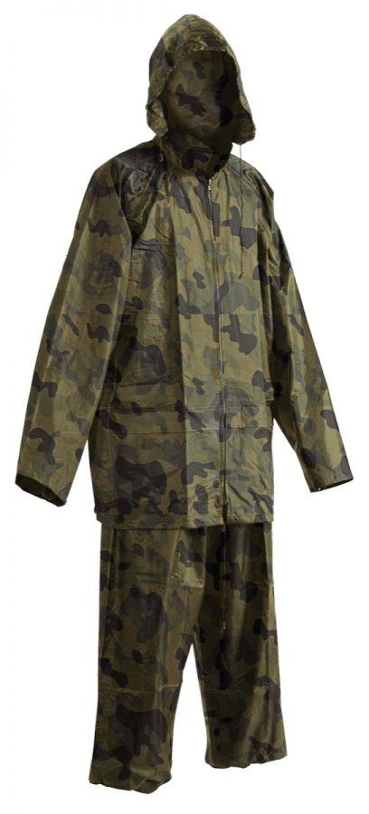 Nepremokavý oblek PVC Maskáč - Oblečenie a okuliare - Rybárske ... cd2e490fea0
