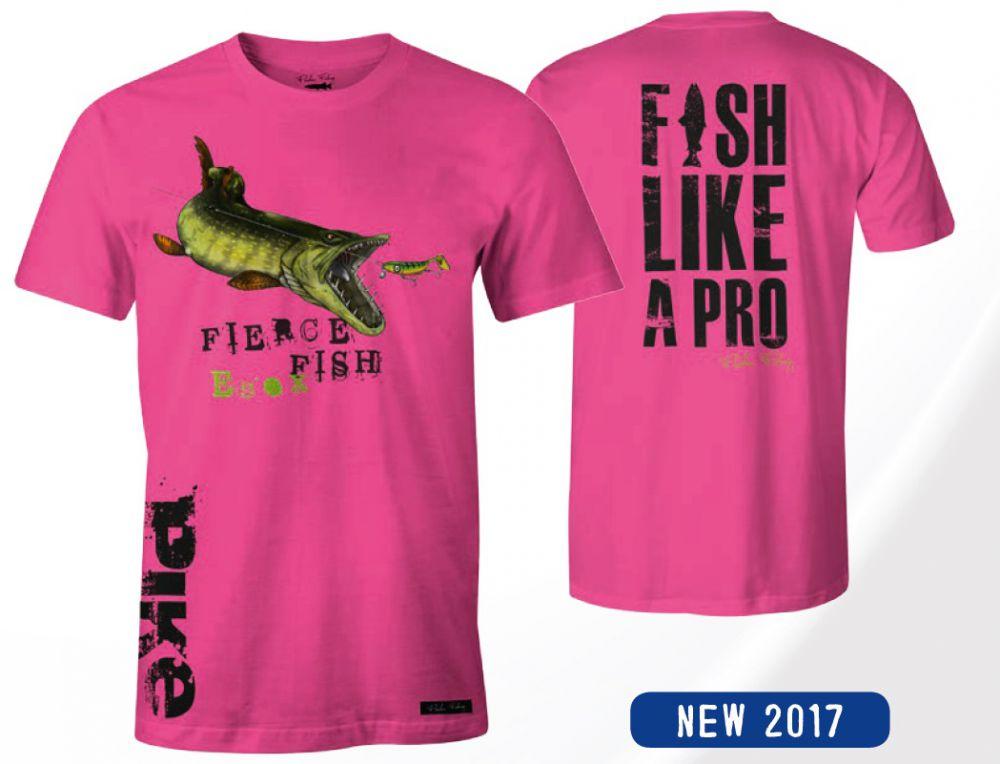 Tričko Hungry Pike ružové S - dámske
