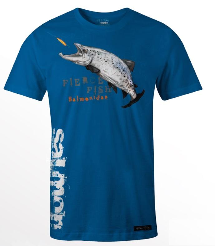 Tričko Hungry Salmon blue M