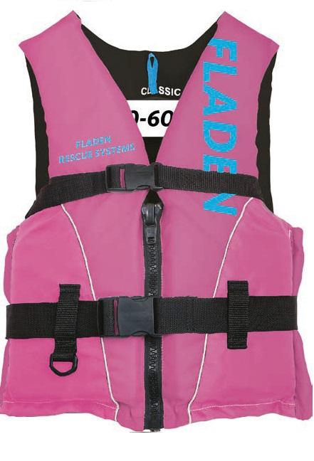 Vesta plávajúca Classic L 70-90 kg ružová
