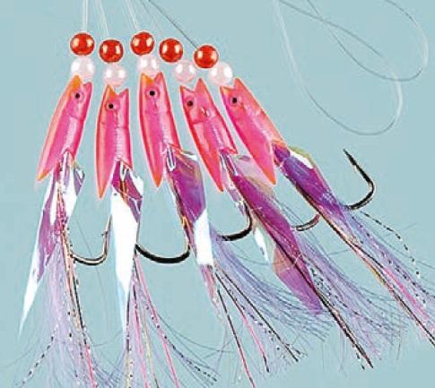 Hokki Pink systém 5-hákový 1/0