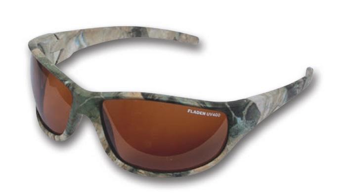 Okuliare Polarizačné Wild Camo hnedé