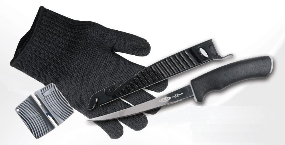 Nôž 6 + rukavica + brúska