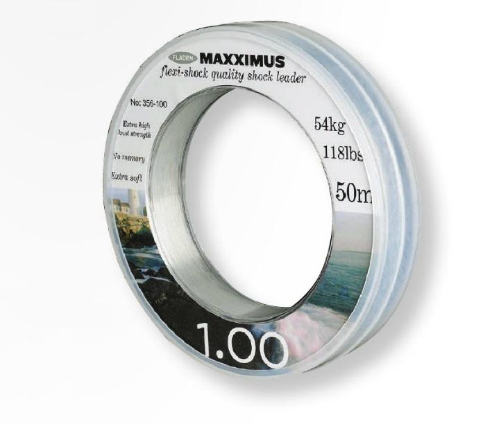 Maxximus Flexi-shock leader 50m 0.60mm