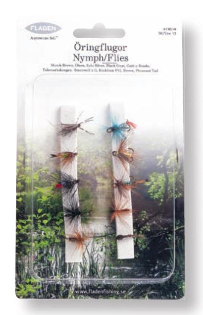 Mušky Troutflies 10ks size 12