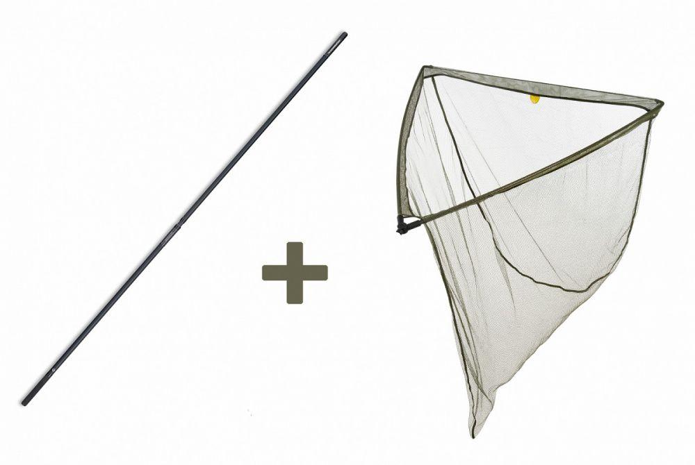 Mivardi Podberák LevelM 90x90cm + tyč Professional Twin 1,80m 2 diely